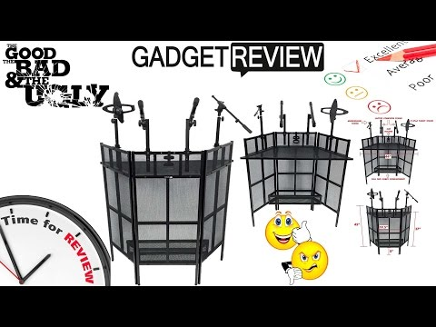 Mobile DJ | Uboxing / Review | The Best DJ BOOTH SETUP? (Made in USA)