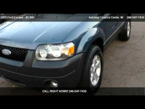 2005 Ford Escape XLT 2WD - for sale in Madison Heights, MI 48071