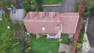 roof cleaning monty solution no jet washing drone camera