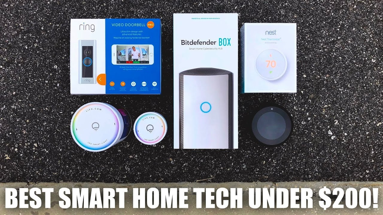 Best Smart Home Tech Under 200