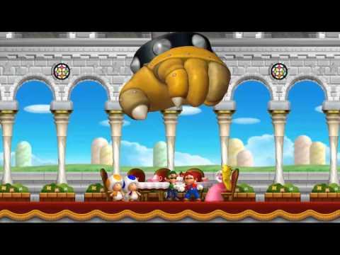 New 超级玛利欧兄弟 U-片头故事剧情影片-Wii U