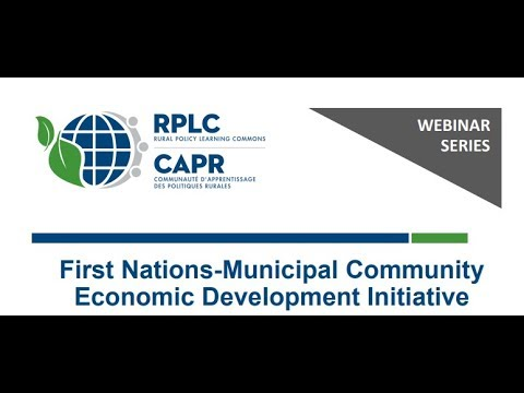 First Nations-Municipal Community Economic Development Initiative