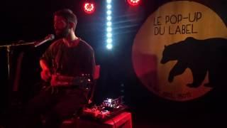 """Thirteen"" & ""Bear"", Peter Silberman (The Antlers) - Paris, Avril 2017"