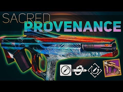 Sacred Provenance Review (The first Rapid-Hit Pulse Rifle) | Destiny 2 Shadowkeep