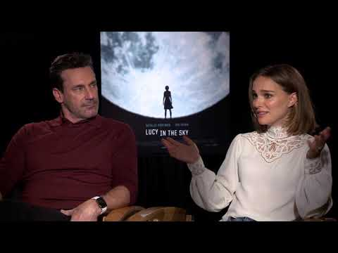 Lucy In The Sky  John Hamm & Natalie Portman Generic Junket Interviews || #SocialNews.XYZ