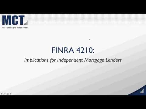 What the New FINRA 4210 Mark to Market Rule Means for Lender