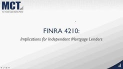 What the New FINRA 4210 Mark to Market Rule Means for Lenders - CMLA Webinar