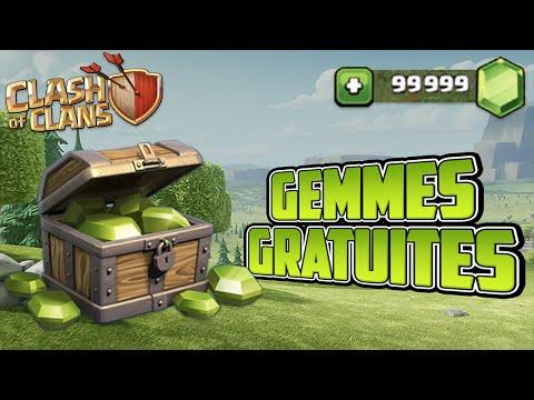 GEMMES Gratuites Rapides Et Surtout FIABLES ! | Clash Of Clans