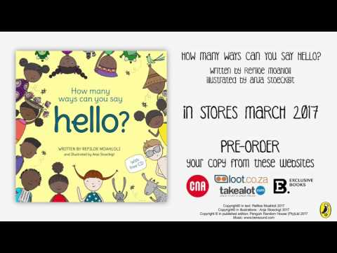 How Many Ways Can You Say Hello Book Trailer