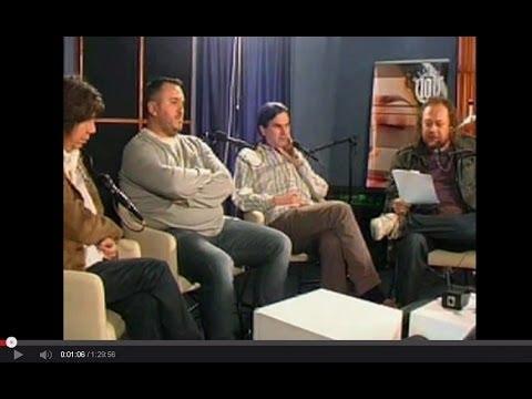 Radio 101 Okrugli Stol  - Rock scena Zagreb i Beograd (30.09.2010)