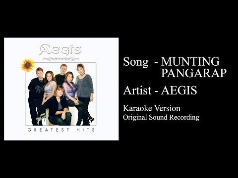 Aegis - Munting Pangarap (Karaoke Version - Original Sound Recording)