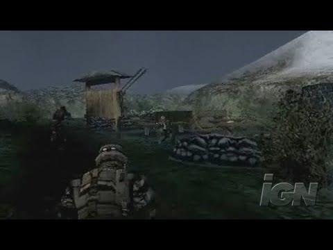 SOCOM: U.S. Navy SEALs Fireteam Bravo 2 Sony PSP Trailer -