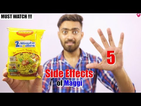 5 Side Effects Of Maggi | MUST WATCH!!! | QualityMantra