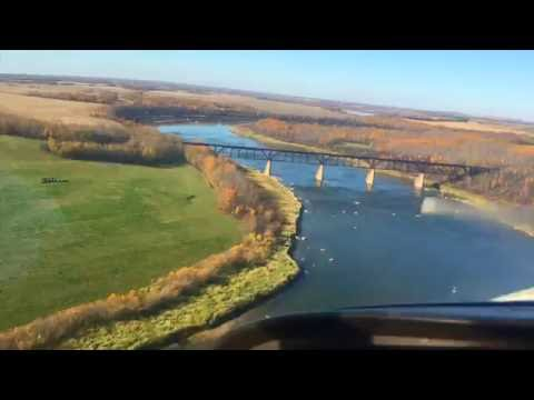 Flying - South Saskatchewan River