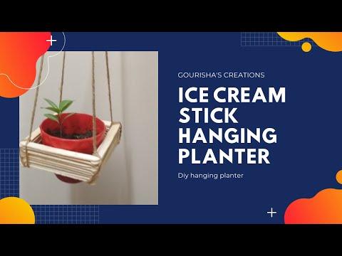 do-it-yourself-|-hanging-planter-|-ice-cream-stick-hanging-planter