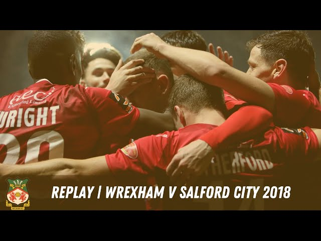 LIVE | Wrexham v Salford 2018