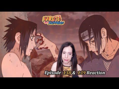 Naruto Shippuden Episode 138 & 139 Reaction. The End. Sasuke and Itachi Uchiha