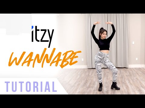 ITZY - 'WANNABE' Dance Tutorial (Explanation & Mirrored) | Ellen and Brian