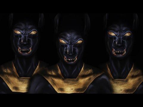 Gods of Egypt Inspired Makeup Tutorial (Anubis)
