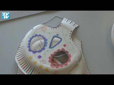 Diy Masken Basteln Für Halloween Youtube