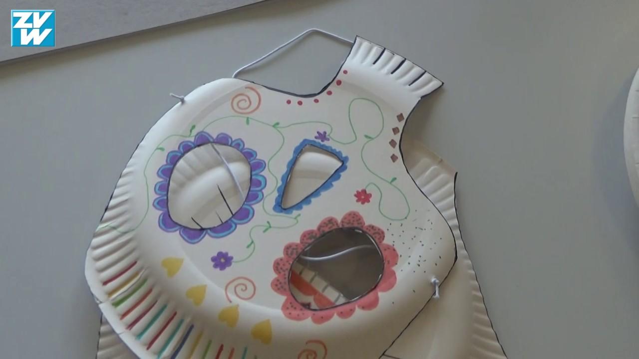 Diy Masken Basteln Für Halloween