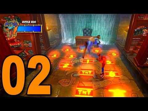 Crash Bandicoot 2 - Part 2 - Ripper Roo Boss!