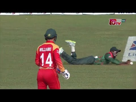 Bangladesh vs Zimbabwe Full Highlights || 3rd ODI || Zimbabwe tour of Bangladesh 2018 thumbnail
