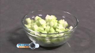 Ingredientes para preparar un sopa de calabaza y chipotle de Chef Zoe