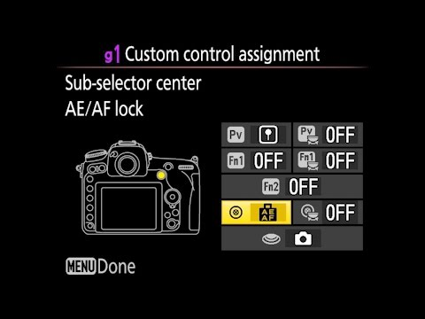 Nikon D500 Custom Settings Menu Walkthrough