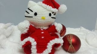 Tutorial Amigurumi Hello Kitty Noel - Cuerpo (english Subtitles)