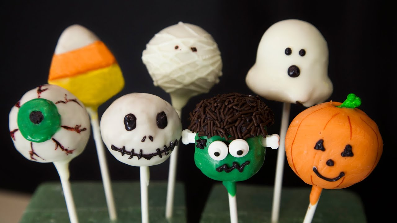 halloween cake pops - youtube
