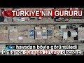 """Türkiye'nin İlk Uçak Gemisi 'TCG Anadolu"""" Havadan Görüntülendi"""