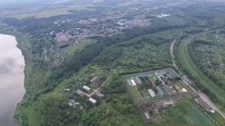 Алексин с высоты 400 метров