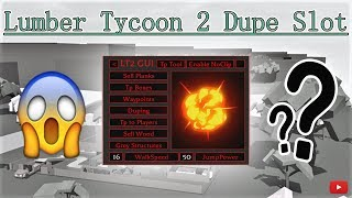 Roblox Lumber Tycoon 2 Dupe Slot | Gold Axe | Money Hack | Tp Tool | Btools And MORE!!!