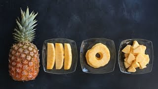 The Quick and Eąsy Way to Cut Pineapple - Kitchen Conundrums with Thomas Joseph