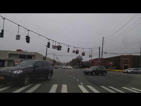 Driving from Roslyn to Glen Head in Nassau,New York