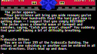 Zork Zero - Going to the top of the FrabozzCo HQ building