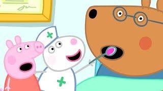 Peppa Pig Resmi Kanal | Peppa Pig Doktor bozayı Bakıyor