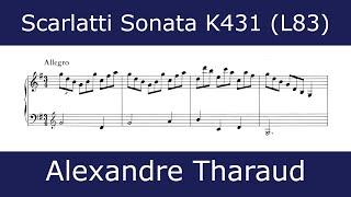 Domenico Scarlatti - Sonata in G major K431 (Alexandre Tharaud)