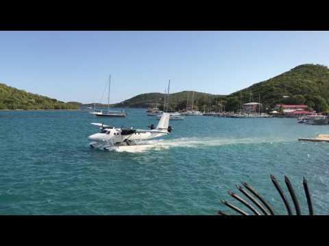 St Thomas SeaPlane Takeoff Charlotte Amalie