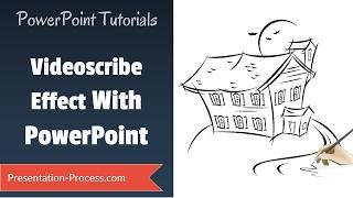 PowerPoint Videoscribe Oluşturmak için : Pratik Animasyon Serisi