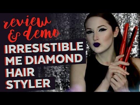 Irresistible Me Diamond Hair Styler - Demo & Review - 동영상