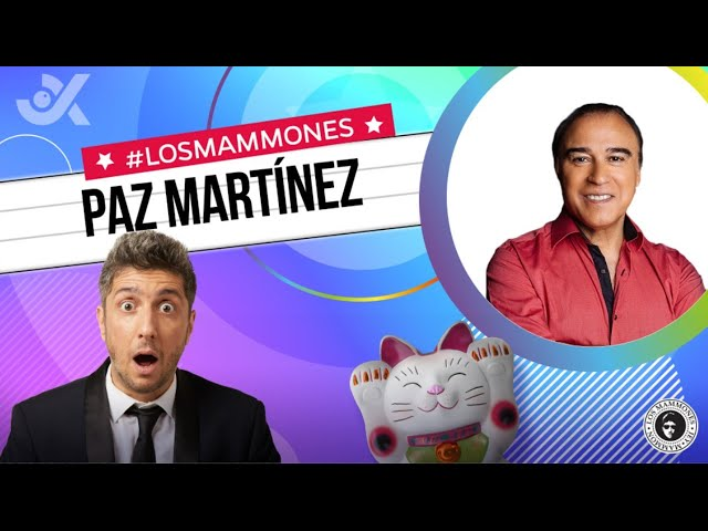 Paz Martínez con Jey: