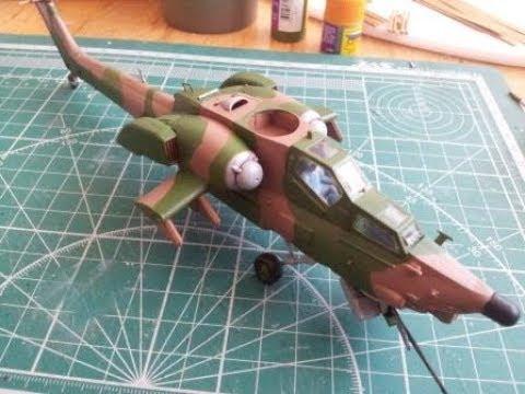 Сборка Ми-28А Звезда - шаг 2