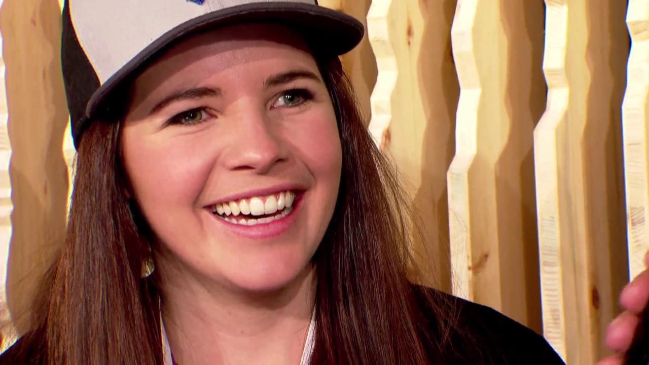 Super G Silbermedaillengewinnerin Tina Weirather Zu Gast