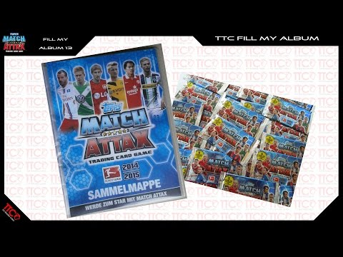 Match Attax 2014/2015 14/15 FILL MY ALBUM #0013 / Opening Unboxing