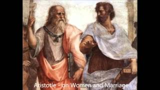 Aristotle on Women and Marriage philosophy