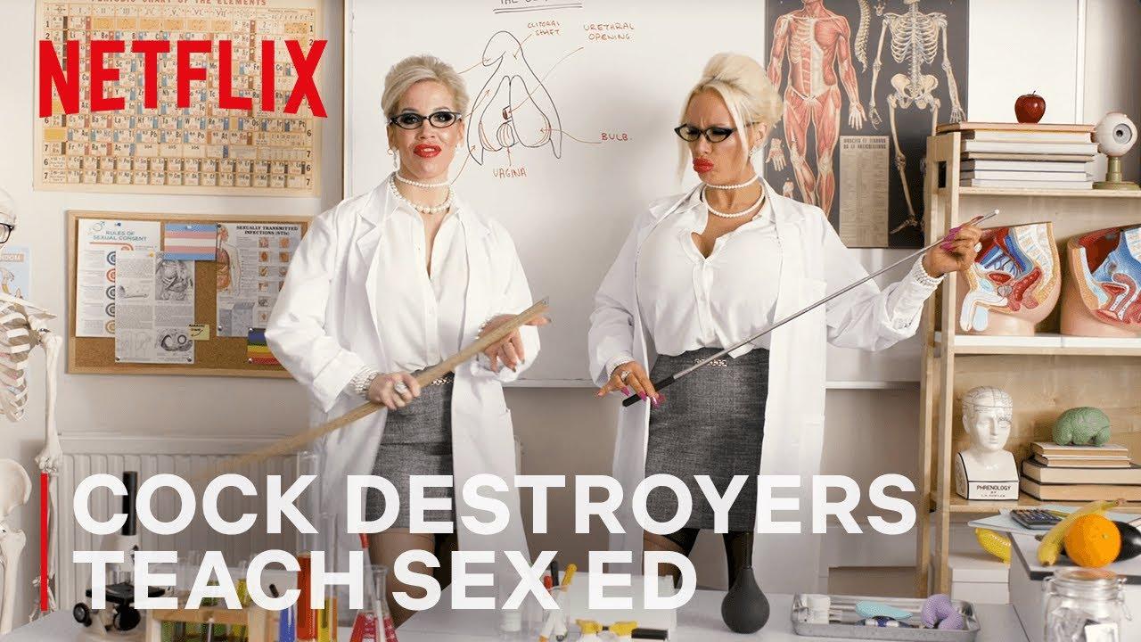 Download The Cock Destroyers Teach Sex Education   Netflix