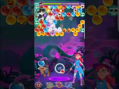 Bubble Witch 3 Saga Level 300 (Final Level 10 Mar. 2017) No boosters ⭐️⭐️⭐️