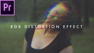 (Distorsiyon) | Premiere CC RGB Glitch Efekti Oluşturmak İçin nasıl